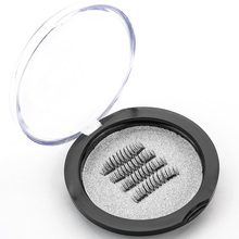 Здесь можно купить  Shozy Magnet Eyelashes with 2 Magnets Handmade Magnetic Lashes 6D 4 Pcs/1 Pair Fake Eyelashes extension with Gift Box-CT03-SY