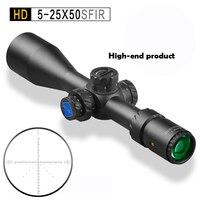 Discovery HD 5 25X50SFIR свет оптический прицел Открытый Охота путешествия винтовка Монокуляр телескоп координировать Пистолет Аксессуары