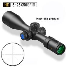 Discovery HD 5-25X50SFIR свет Оптический вид Открытый Охота путешествия винтовка Монокуляр телескоп координата Пистолет Аксессуары
