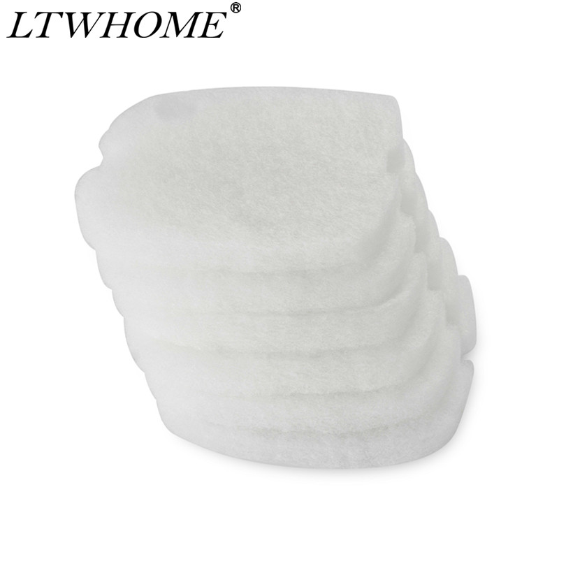 LTWHOME Replacement Compatible Filter Floss Pads Fit For Tetratec External Filters EX1200