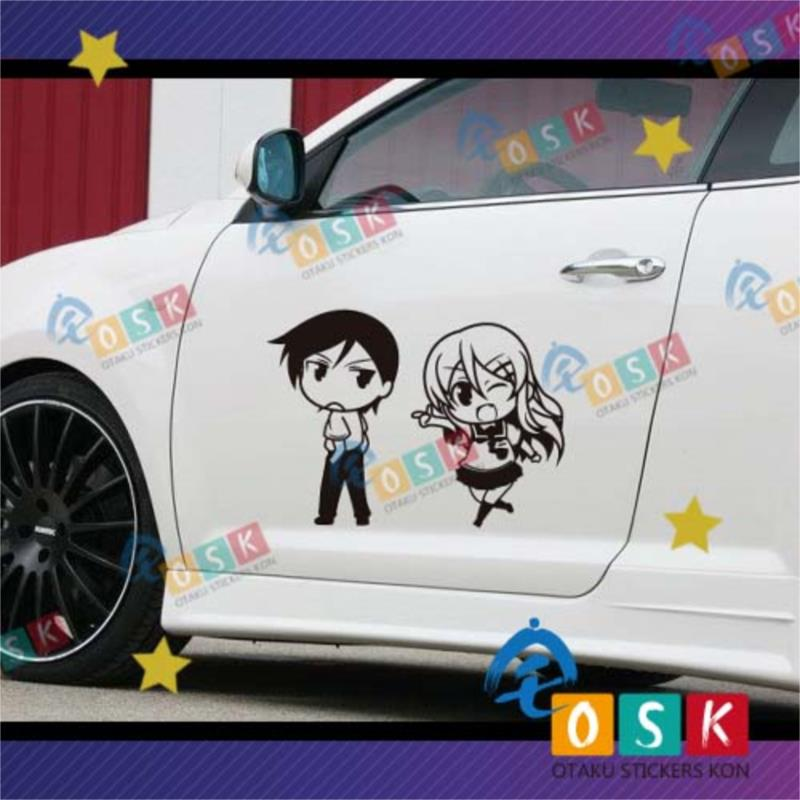 My sister I sister Kawasaka Tong is a wall paste anime ACG game around the car stickers