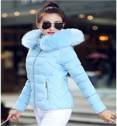 2016-Women-s-Down-Parkas-Cotton-Jacket-Female-Cotton-padded-Coat-Winter-Large-Fur-Collar-With