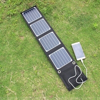Hot Sale 3PCS Lot 14W Sunpower Foldable Solar Charger For IPhone Cell Phone Travelling Essential Outdoor