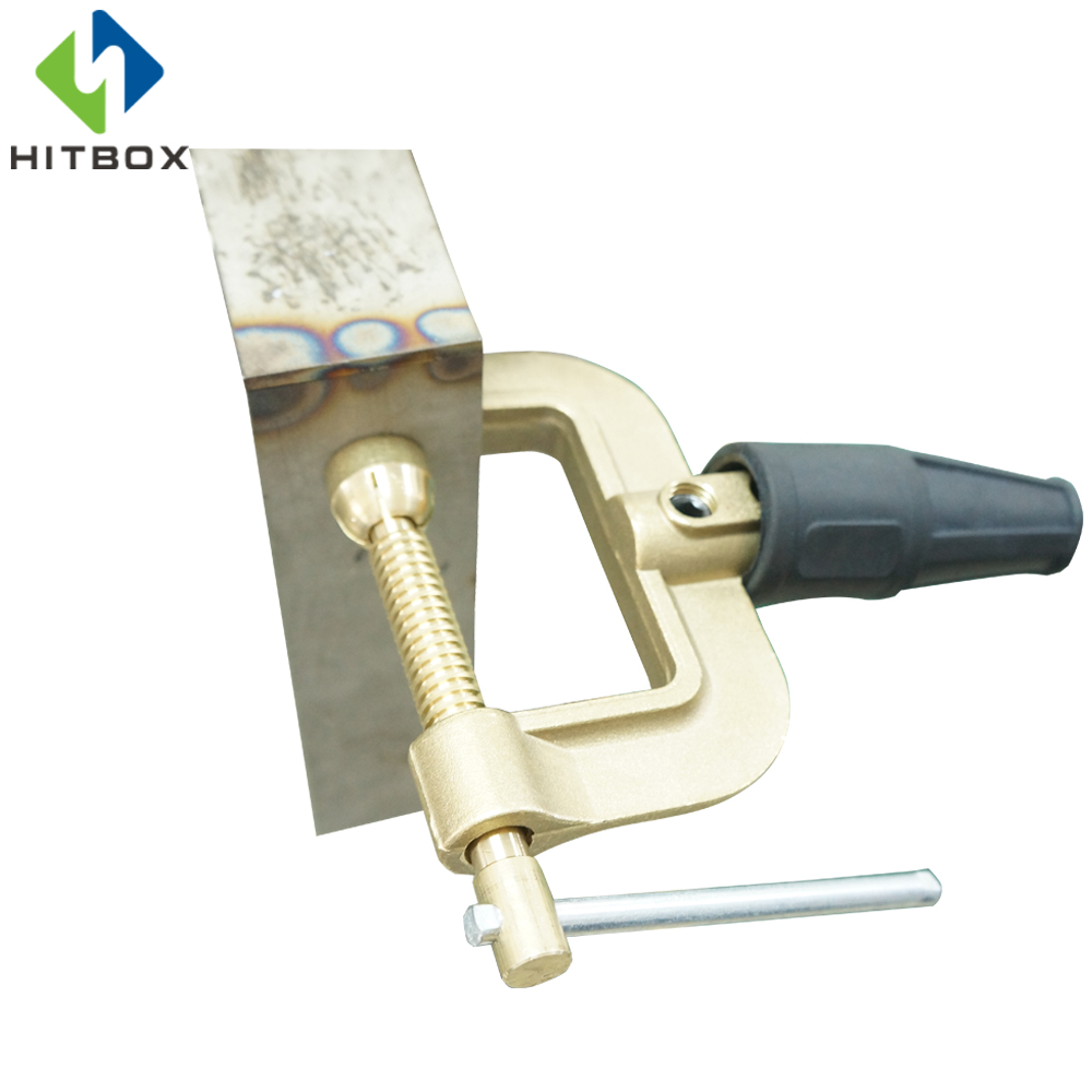 HITBOX Professional 400A Welding Ground Clamp Earth Clamp Cable Holder Heavy Duty For Welding And Cutting