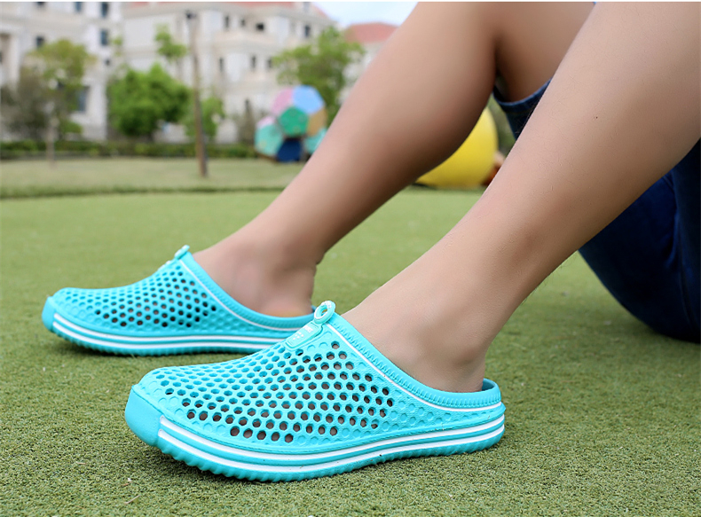 b99465252f13ae ... Brand Duty-Free Big Size 36-45 Lover Clogs 6 Colors Croc Shoes Men ...