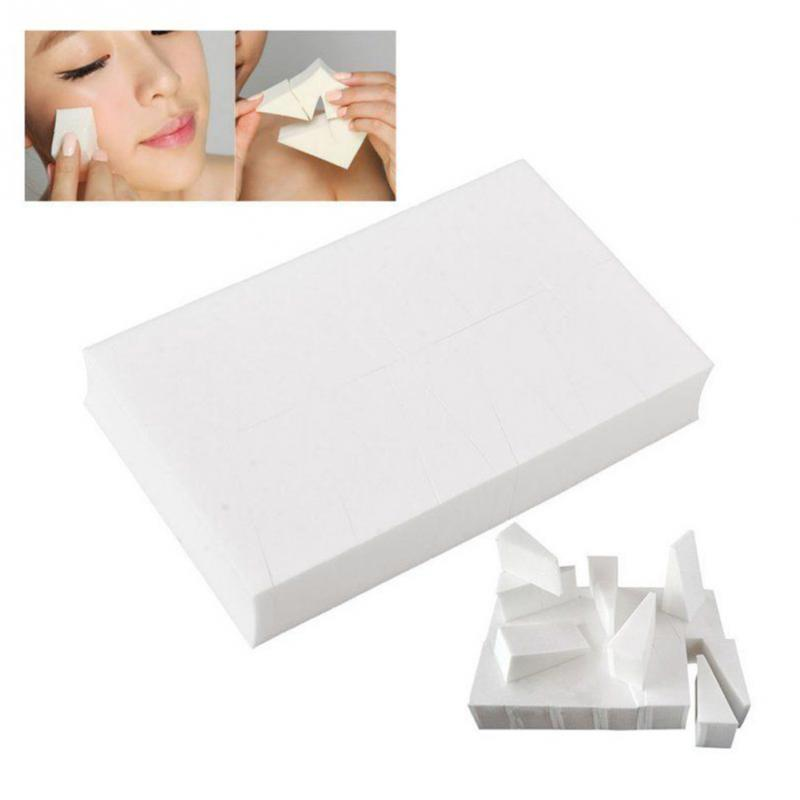 Mini Trapezoid Shape Powder Puff Cozy For Daily Use,20 Pcs
