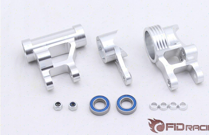 FID increase bearing steering system FOR LOSI 5IVE-T fid rear axle c block for losi 5ive t mini wrc