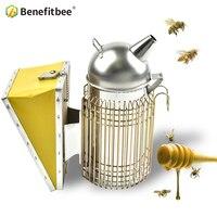 Benefitbee Stainless Steel Bee Beekeeping Smoker Beekeeping Tools For Beekeeper Intensive Beehive Smoker Beekeeping Equipment