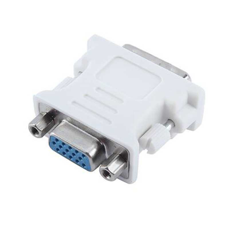 DVI 24+5 Male to VGA Female Converter DVI to VGA adapter VGA Adapter Convertor for PC Laptop Tablet Projector