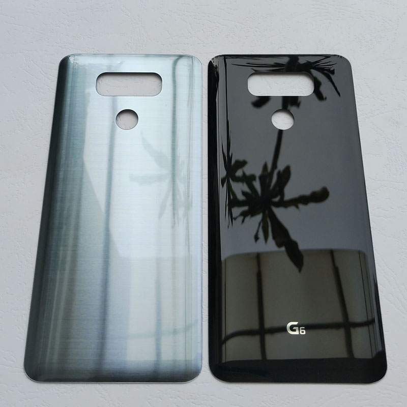 BINYEAE New Glass Battery Cover For <font><b>LG</b></font> <font><b>G6</b></font> H870 H870DS H871 H872 <font><b>H873</b></font> LS993 US997 <font><b>G6</b></font> Fit Rear Housing Back Case+Repair Tools image