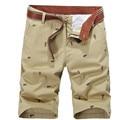 Men's Shorts Leisure CARGO Shorts 3 Color Straight Fashion Man Short Trousers Bottoms