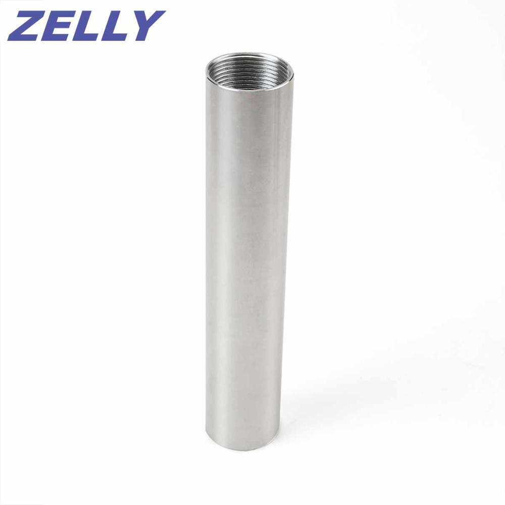 Machined Aluminum Tube FOR SOLVENT TRAP FUEL FILTERS KIT 1 1 2 x 6 To 9mm