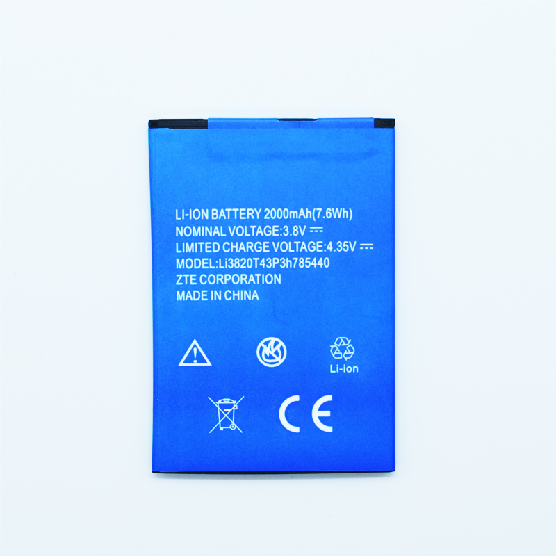 Hekiy Rechargeable Phone Battery For ZTE Blade L2 L 2 Plus Battery for ZTE Blade L370 Accumulator 2000mAh Li3820T43P3h785440