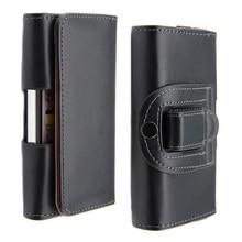 Clip ceinture Étui En Cuir PU Mobile Téléphone Cas Poche Smartphone Pour htc one v T320e G24 Couverture de Téléphone portable