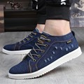 New arrival Low price Mens Breathable High Quality Casual Shoes Jeans Canvas Casual Shoes men Fashion Flats Loafer EPP147