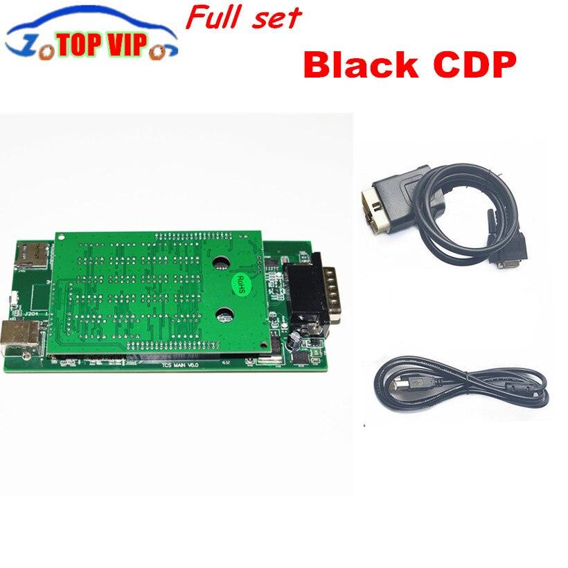 Цена за Скидка Самая низкая цена! 2017 новые черные TCS CDP Pro Plus Нет Bluetooth новый VCI 2015 R3 Keygen для car/Грузовик Авто diagnost