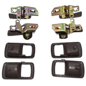 Image 3 - ISANCE 8pcs Brown Inside Door Handle Front Rear Left Right SET For Toyota Camry 1992 1993 1994 1995 1996 6920532070 6920532071