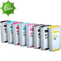 Высококачественное зарядное устройство для hp 70 полный картридж совместимый с Designjet Z2100 Z3100 Z3200 Z5200 принтер