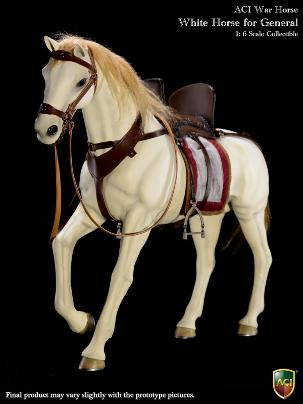 1/6 scale figure doll War Horse for 12 action figure doll accessories model White Horse for General,doll not include 1 6 scale figure doll war horse for 12 action figure doll accessories model white horse for general doll not include
