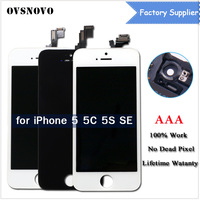 3Pcs LOT AAA Quality LCD Display For IPhone 5 5S 5C SE Touch Screen Digitizer Assembly