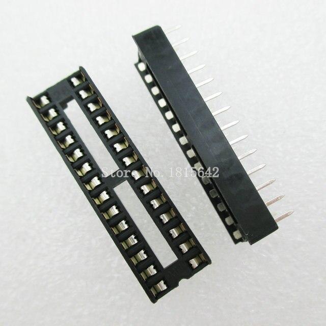 20 шт./лот 28 Pin DIP SIP IC розетки адаптер паяльный Тип узкая ic розетка