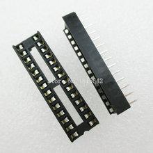 20 PCS/LOT 28 broches DIP SIP IC prises adaptateur Type de soudure étroite ic prise