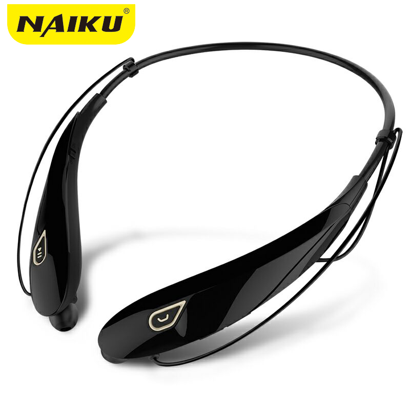 2017 New Neckband Stereo Bluetooth Headset Wireless Mobile Music V4.1 Sport Earphone Phone Headphone Handsfree HD MIC Earpiece hbs 760 bluetooth 4 0 headset headphone wireless stereo hifi handsfree neckband sweatproof sport earphone earbuds for call music