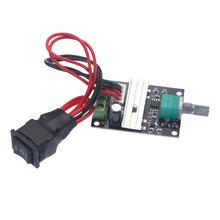 1203BB 6V 12V 24V 3A 80W DC Motor Speed Controller (PWM) Adjustable Reversible Motor Driver Switch 1203BB Driver Switch