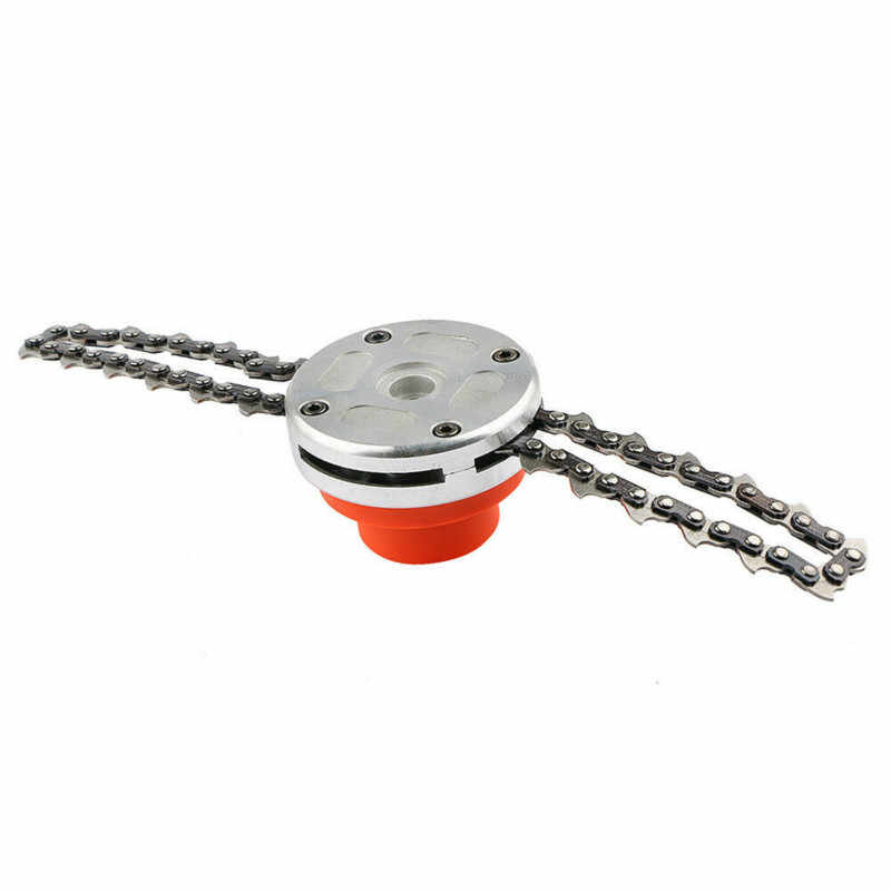 Universal 65Mn cortacésped Chain cortacésped Head Chain Brushcutter para jardín cortacésped piezas de repuesto herramientas