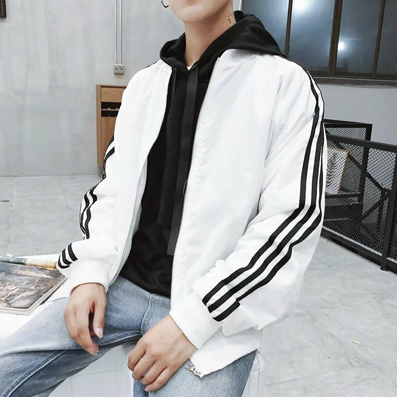 Men's Coat 2019 Spring Autumn Men's Streetwear Jacket Korean Fashion Leisure Slim Handsome Baseball Jackets Men Outerwear