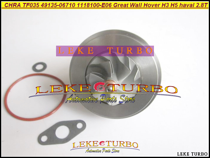 Turbo Cartridge CHRA TF035 49135-06700 1118100-E03 1118100 E03 4913506700 Turbo For Great Wall Hover H3 H5 haval GW2.8TC 2.8L turbo cartridge chra tf035 1118100 e06 1118100e06 49135 06710 4913506710 for great wall hover h3 h5 haval 2 8t 2 8l gw2 8tc 70kw
