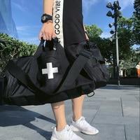 High Capacity Travel Bag Boarding Bags Cylinder Package Multifunction Rusksack Male Female Fashion Backpack Big Duffle Bag N