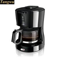 Use half/fully automatic coffee maker to make pot