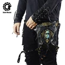 Steampunk Waist Leg Bags Women Men Unisex Victorian Style Holster Bag Retro Fanny Packs Gothic Hip Bags Fashion Heuptas недорого