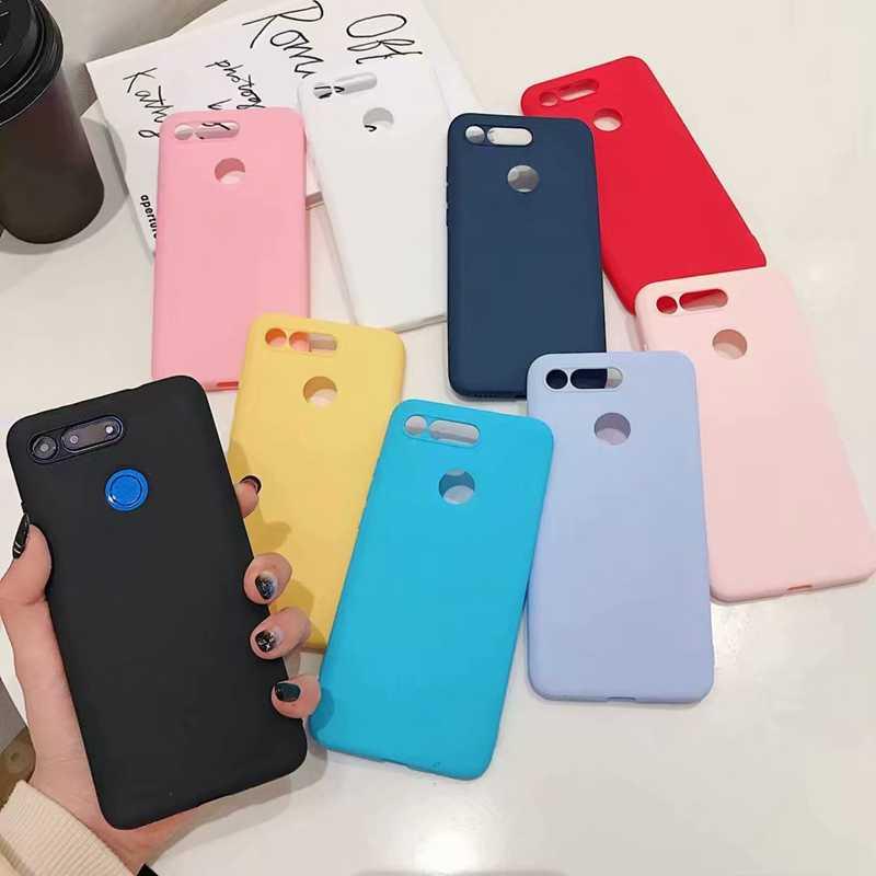 Матовая Карамельный цвет Силиконовые чехлы из ТПУ для Xiaomi mi 9 SE 8 A2 Lite A1 6X 5X Red mi 7 Note 7 6 Pro 5 Plus 5A 6A 4 4X S2 чехол Capa