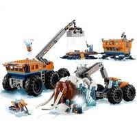 Compatible Legoings 60195 City Arctic Mobile Exploration Base Mammoth Compatible 60195
