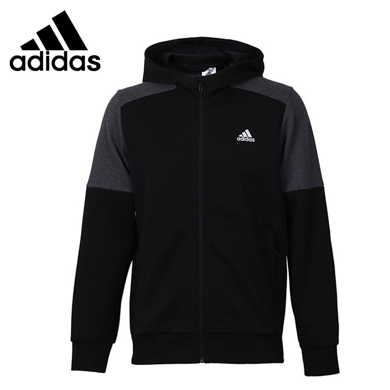 Original New Arrival 2018 Adidas JKT KN CB HD Men's jacket Hooded Sportswear original new arrival official adidas tan lt wov jkt men s jacket hooded sportswear bq6894