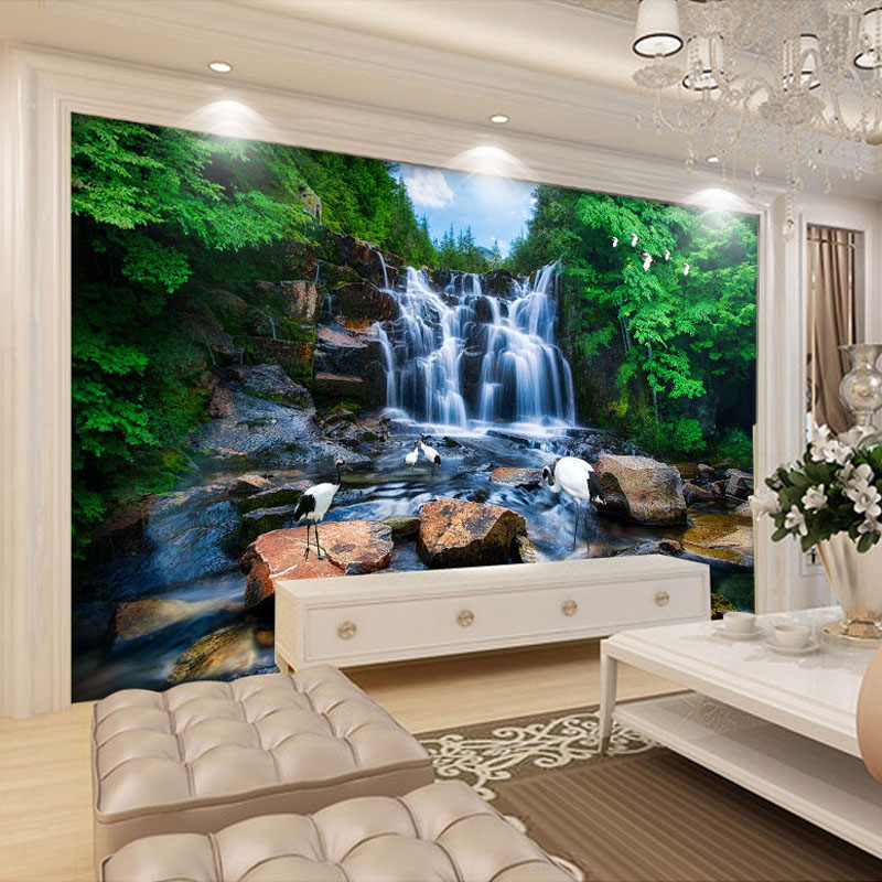 Online Buy Wholesale Stone Wall Murals From China Stone