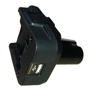 Запчасти для инструментов DM18RL конвертер адаптер USB зарядное устройство для RYOBI конвертировать Dewalt 20V Milwakee 18V M18 в P108 ABP1801 NiCad NiMh батарея