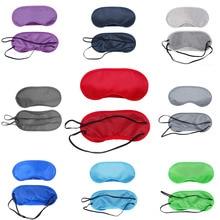 Novo E Confortável Para Dormir Eye Máscara Sombra Eye Sleep Máscara Cor  Bandagem Máscara Sobre Os 18024b2a15