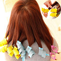 Useful 18 PCS Hair Curlers Twist Spiral Circle Rollers Curling Iron Wand Salon Tool High Quality