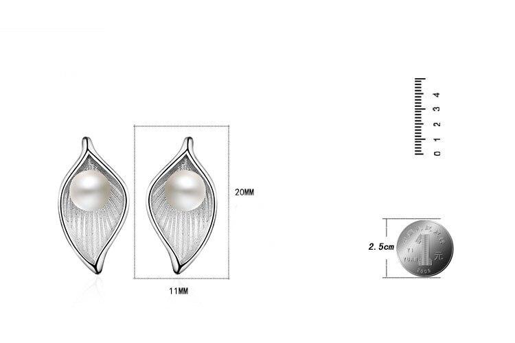 RUOYE divat édesvízi gyöngy fülbevaló fülbevaló fülbevalók - Divatékszer - Fénykép 2