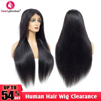 150% Density Lace Front Human Hair Wigs For Women Pre Plucked Straight Lace Front Wig With Baby Hair Peruvian Remy Wig Aphro