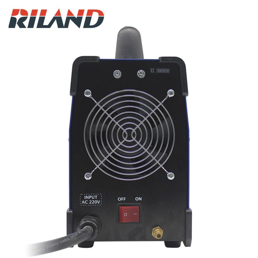 RILAND cięcia 40CT plazmowej maszyna do cięcia 220V do cięcia plazmowego cięcia 0.3-16mm ze stali nierdzewnej ze stali nierdzewnej