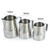 2017 New Stainless Steel Milk Frothing Pitcher Jug Espresso Pitcher Coffee Latte Frothing Jug Drinks Tools