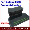 Freeshipping 100 unids Marco Etiqueta Adhesiva de Gaza Para Samsung S2 i9200 Full Frame Digitalizador Lente de Cristal