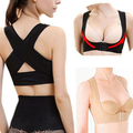 Women Chest Brace Support Belt Band Posture Corrector X Type Back Shoulder Vest