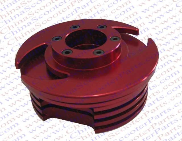 Performance 44MM Cylinder Head 47CC 49CC Mini Quad ATV Dirt Pit Bike Parts Red