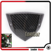For KAWASAKI Z1000 Z 1000 2014 2015 Motorcycle Accessories Carbon Fiber Instrument Wind Shield Cover
