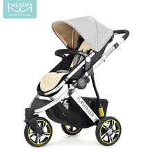 Babyruler baby stroller high landscape two-way can sit in the portable baby carriage three rounds of shock children's cart